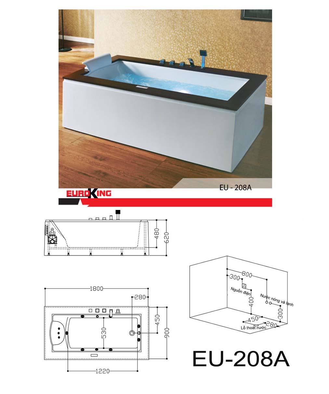 Bản vẽ kỹ thuật EU-208A