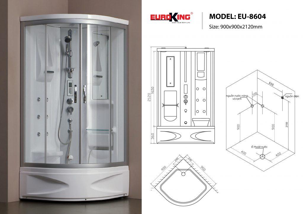 Phòng xông hơi EU-8604
