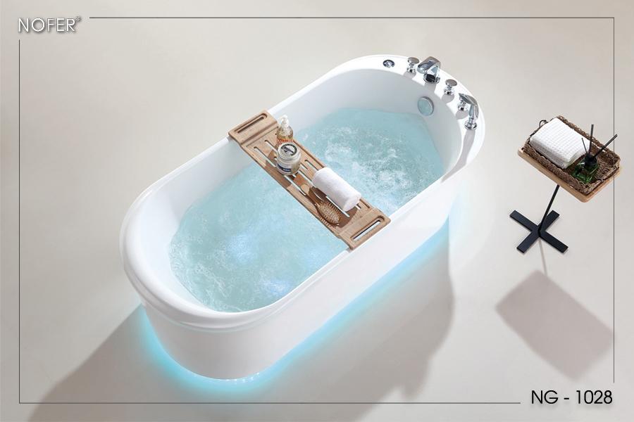 Hình ảnh tổng thể của bồn tắm massage NG-1028PP