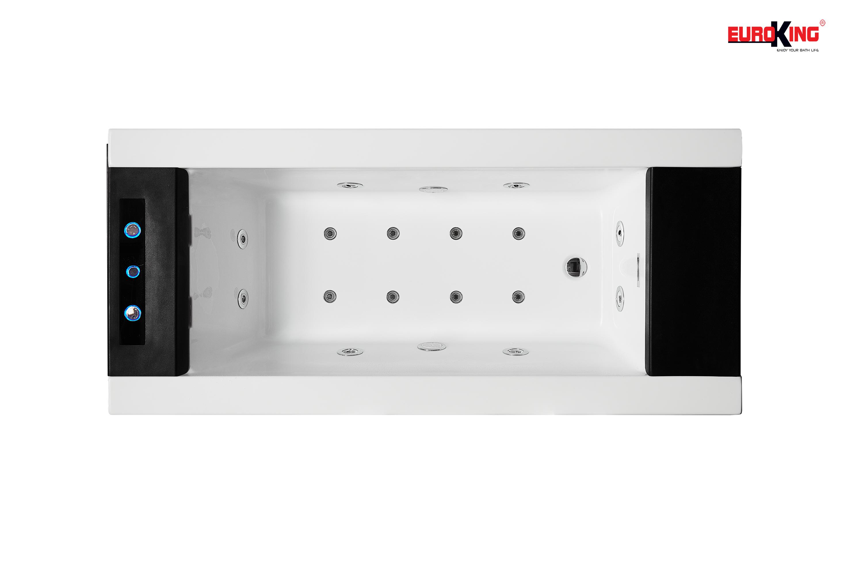 Phía bên trong của bồn tắm EU-1108A