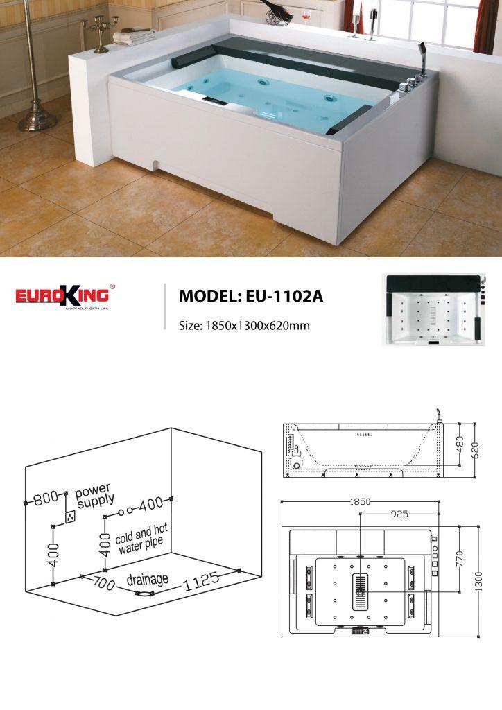 Bản vẽ sơ đồ kỹ thuật EU-1102A