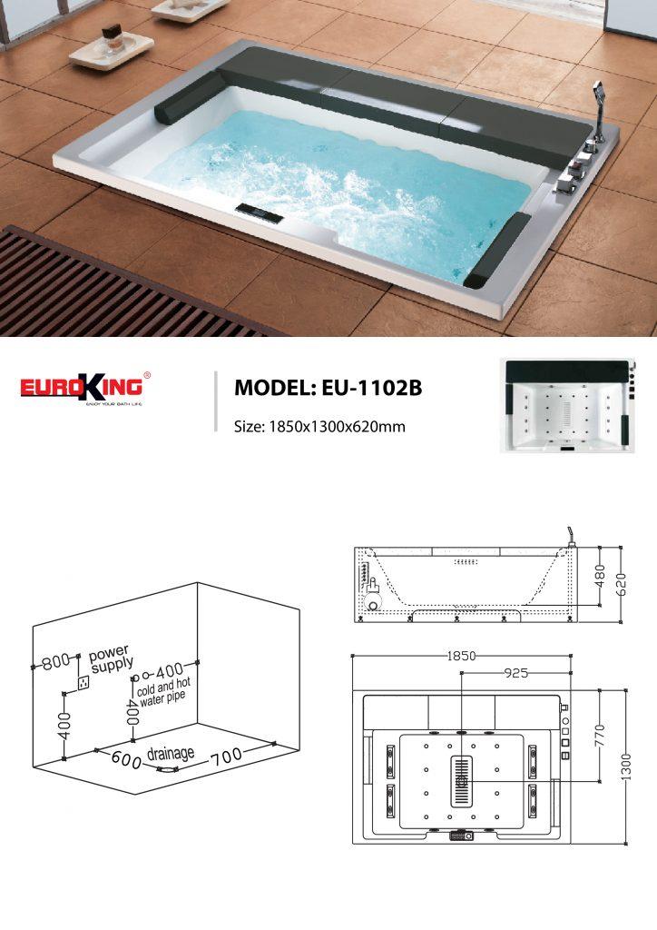 Bản vẽ sơ đồ kỹ thuật EU-1102B
