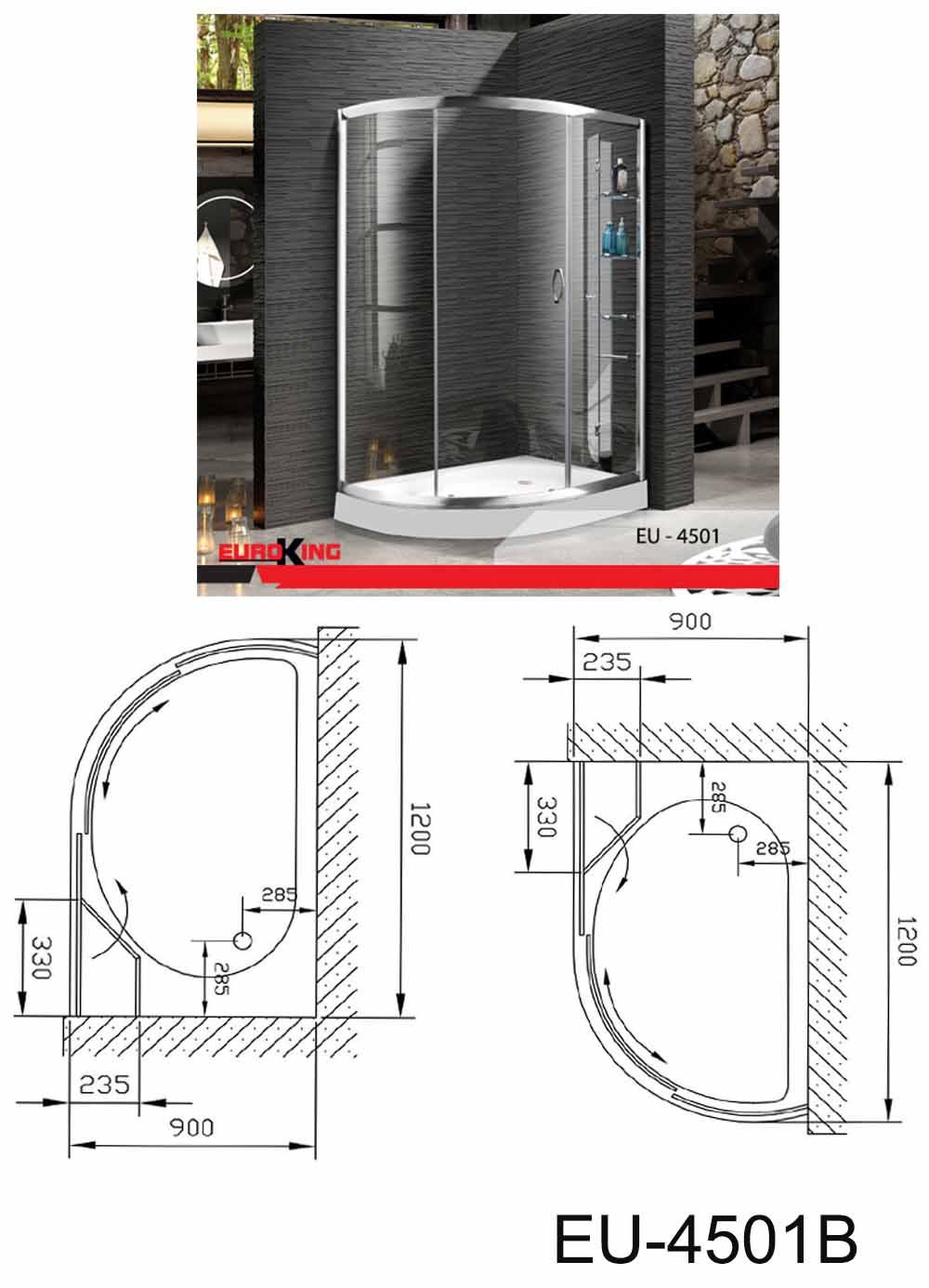 Bảng vẽ kỹ thuật EU-4501