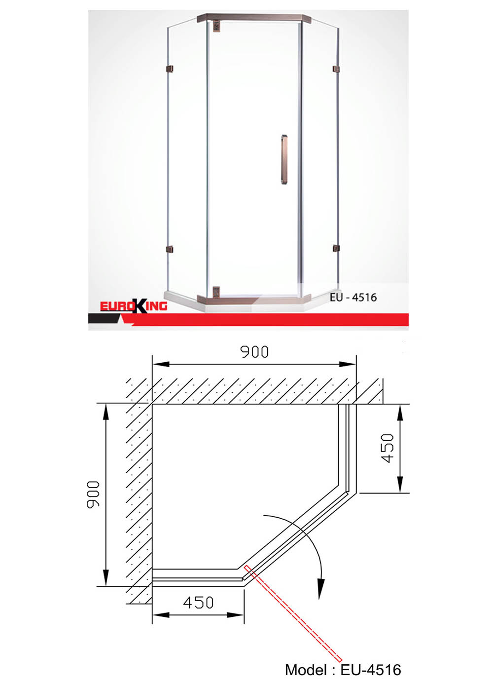 Bảng vẽ kỹ thuật EU-4516