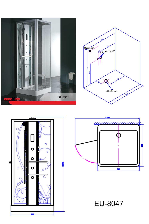 Bảng vẽ kỹ thuật EU-8047