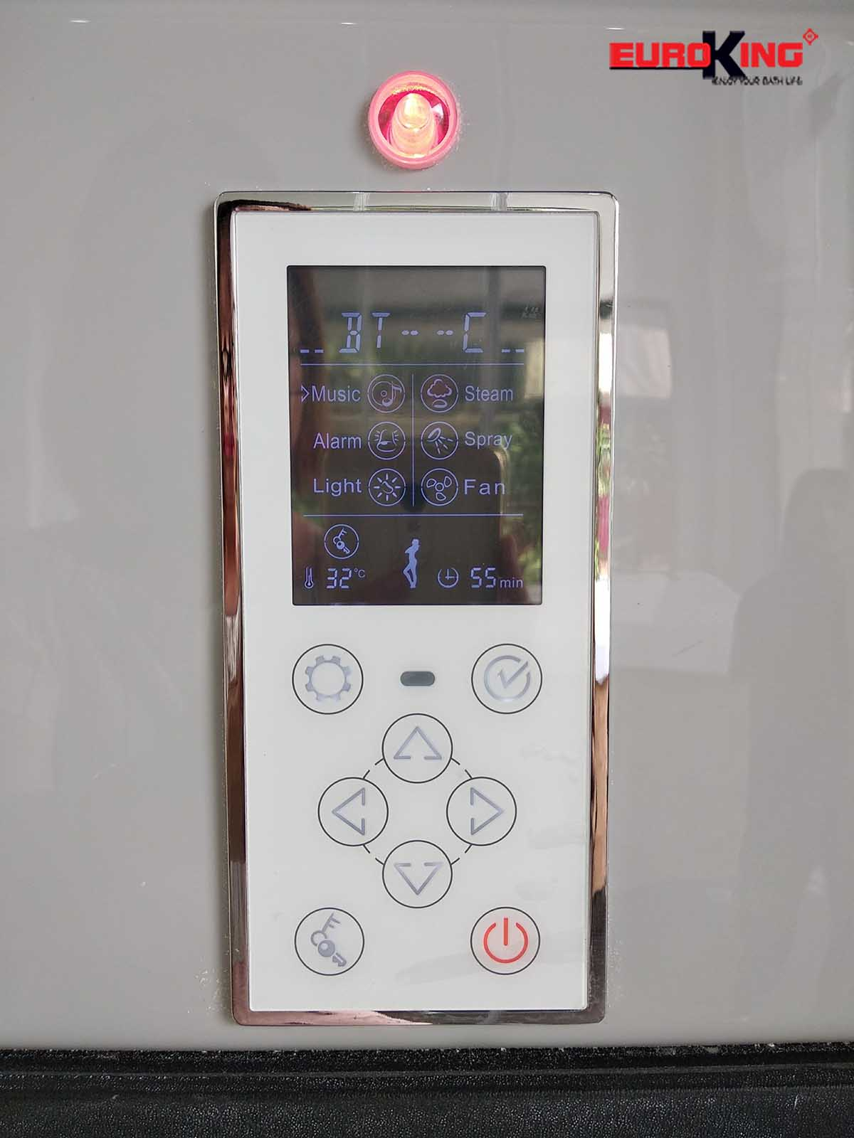 Bảng điều khiển phòng xông hơi EU-A601