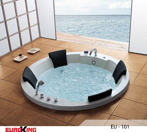 Bồn tắm massage: Thiết kế đáng mơ ước của phòng tắm hiện đại