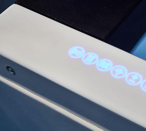 phong cách tối giản trong thiết kế bồn tắm massage EuroKing