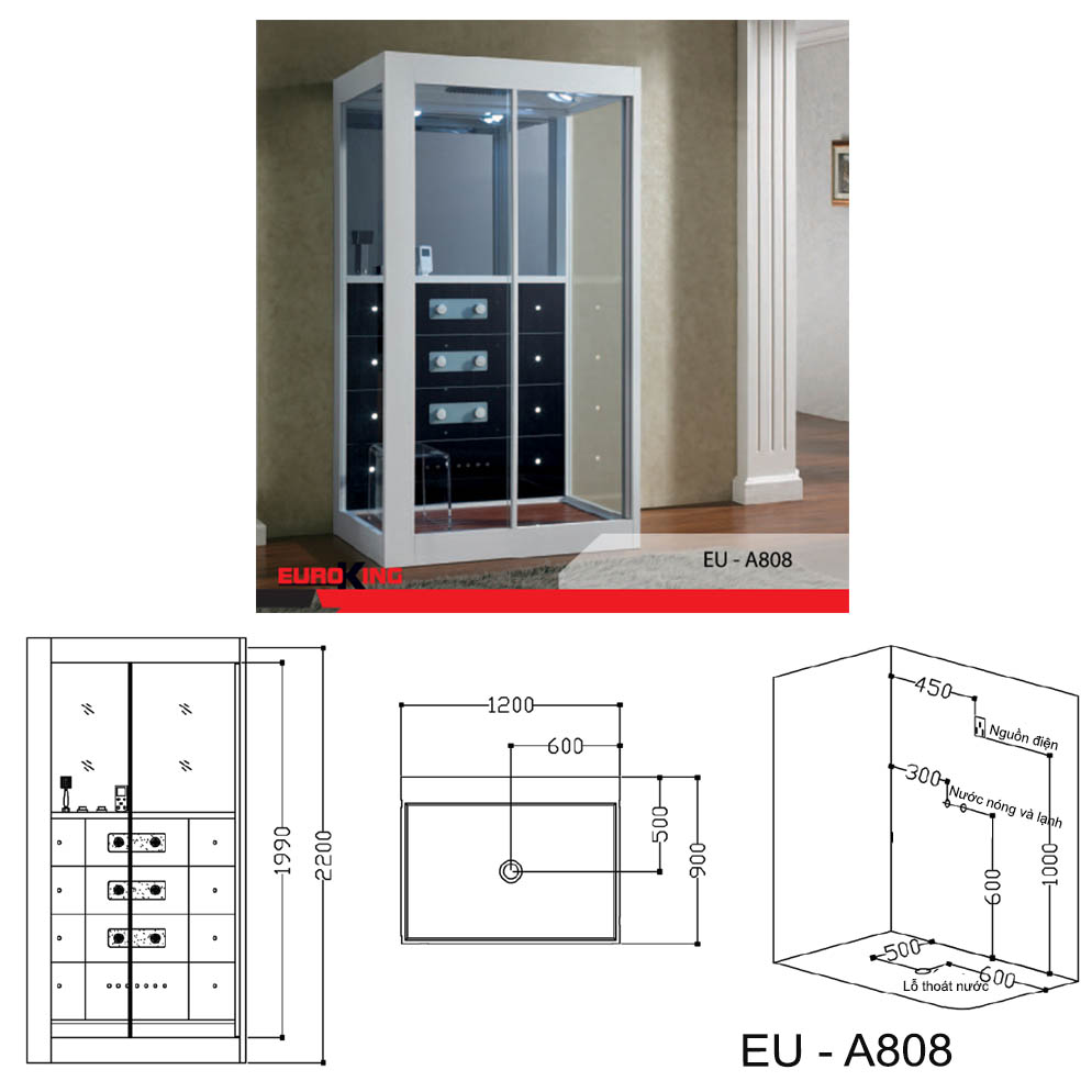 Bảng vẽ kỹ thuật EU-A808