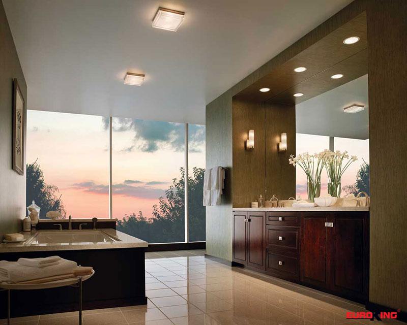 ánh sáng tự nhiên cho phòng tắm