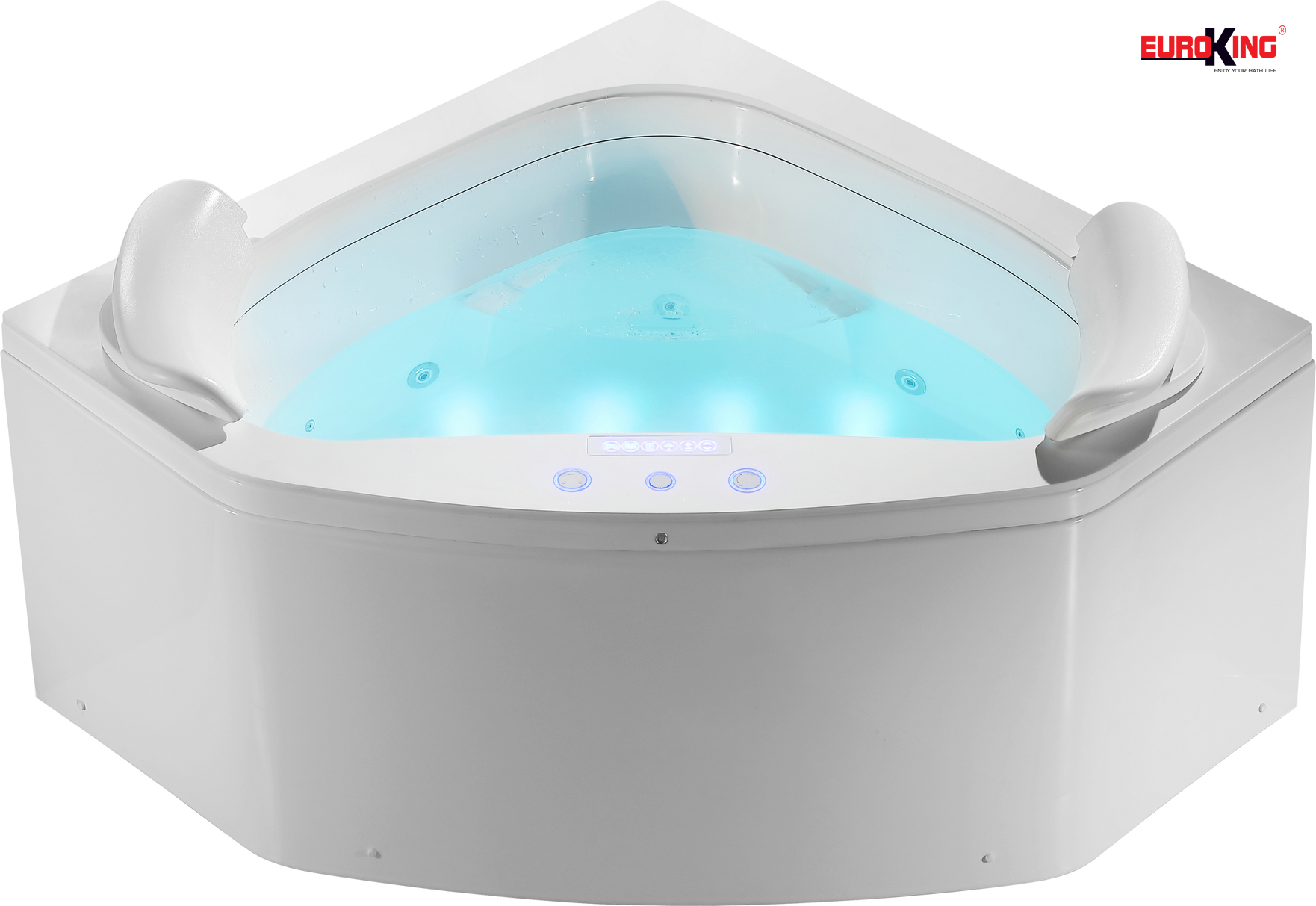 Phía trong lòng bồn tắm massage EU-1503.