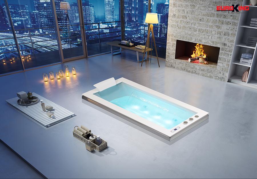 Bồn tắm massage EU-1505 phiên bản âm sàn