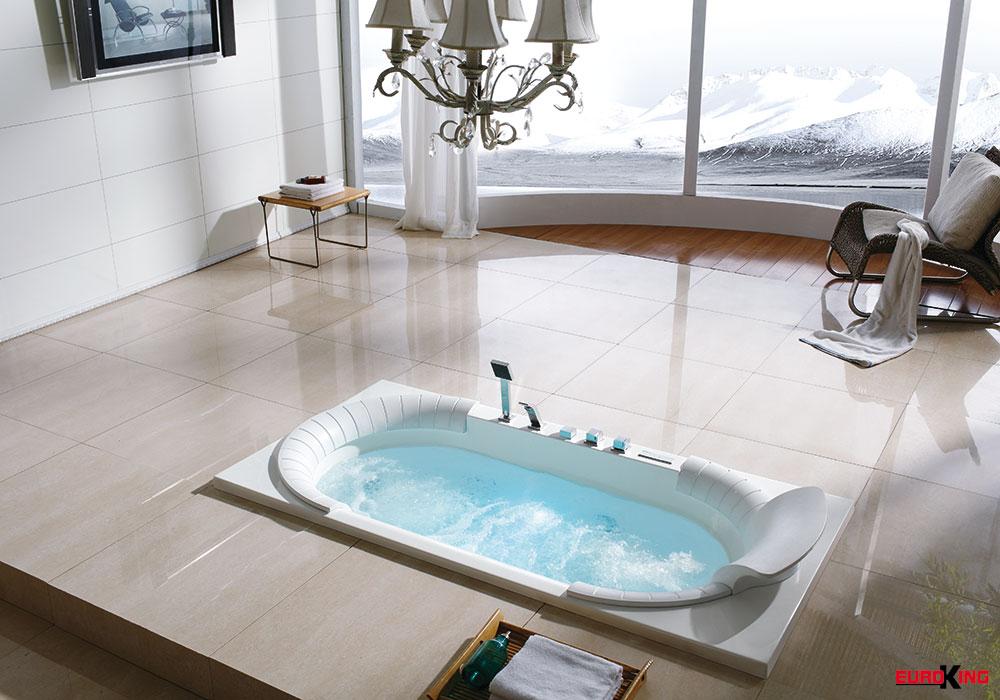 Biến phòng tắm thành spa.