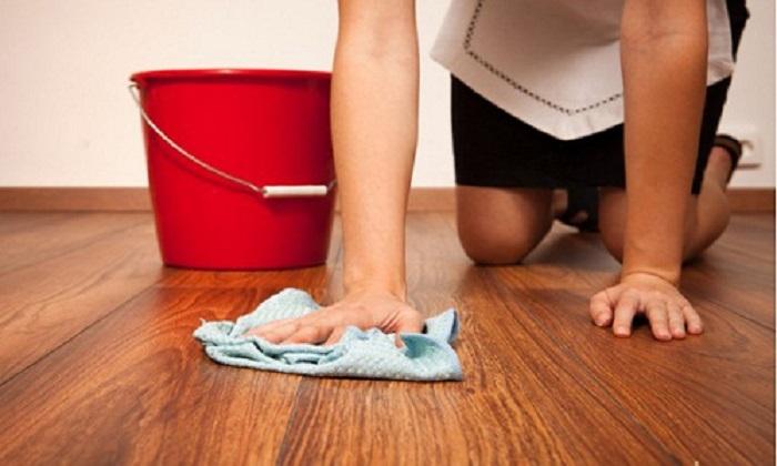 Với mẹo nho nhỏ, việc lau sàn không còn vất vả