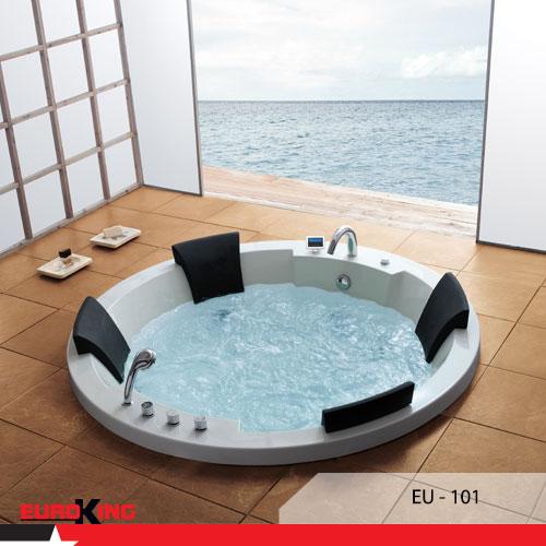 Bồn massage EuroKing với thiết kế đẹp mắt và những tính năng tuyệt vời