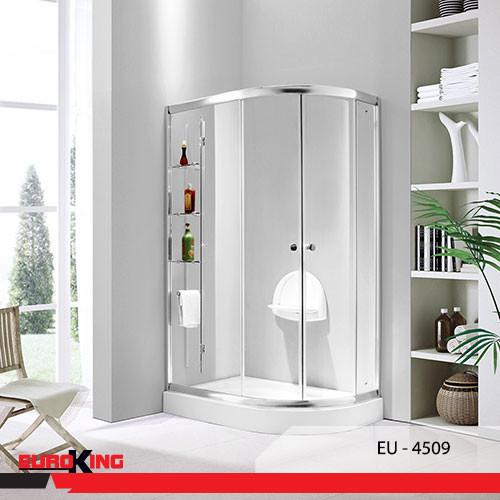 Phòng tắm vách kính giúp không gian phòng tắm trở nên thông thoáng, rộng rãi hơn