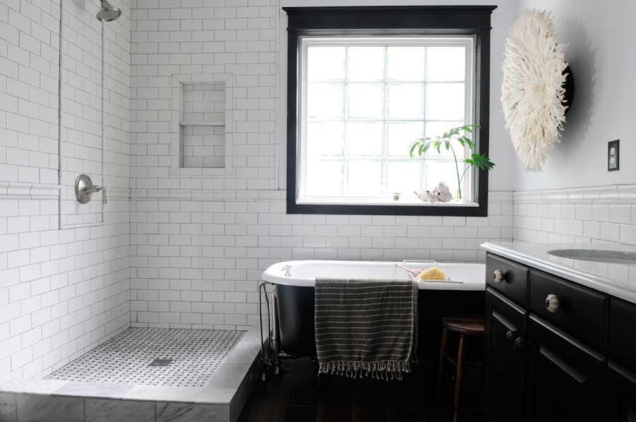 gạch phòng tắm theo phong cách hiện đại