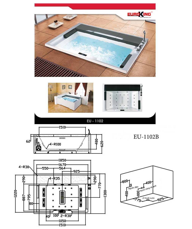 Bản vẽ kỹ thuật EU-1102B