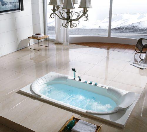 bồn tắm massage Euroking âm sàn đẹp nhất