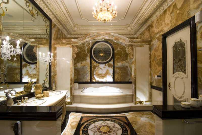 Phòng tắm phong cách tân cổ điển - kiến trúc của vương giả