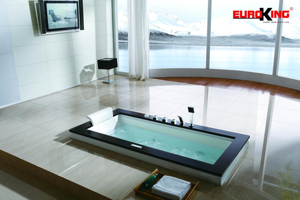Bồn tắm massage Euroking âm sàn EU-208