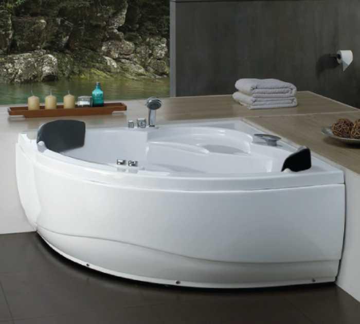 bồn tắm nằm massage