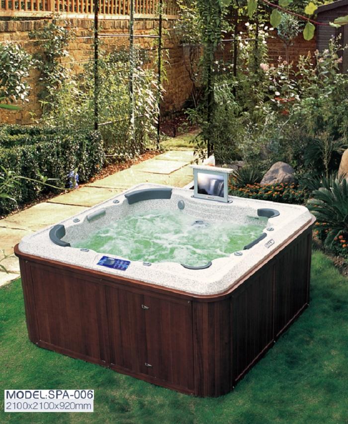 Các loại bồn tắm massage