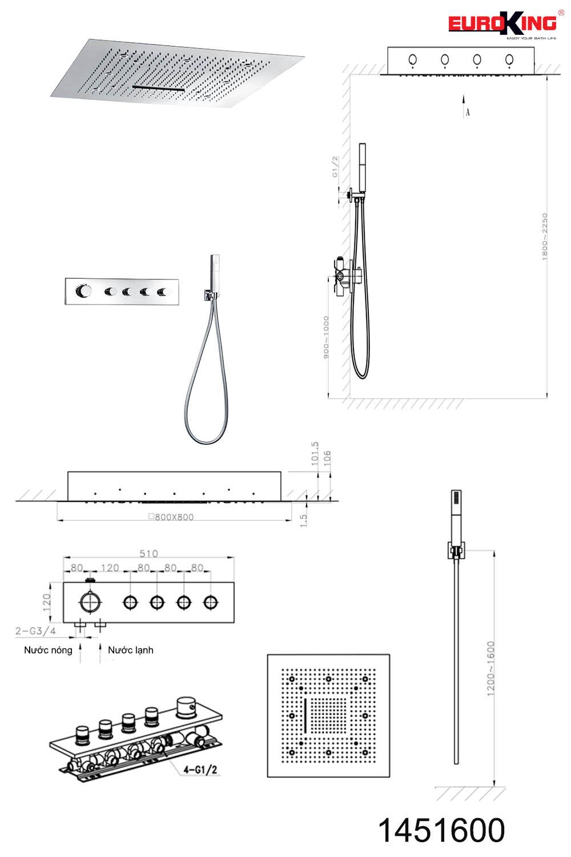 Bảng vẽ kỹ thuật EU-1451600