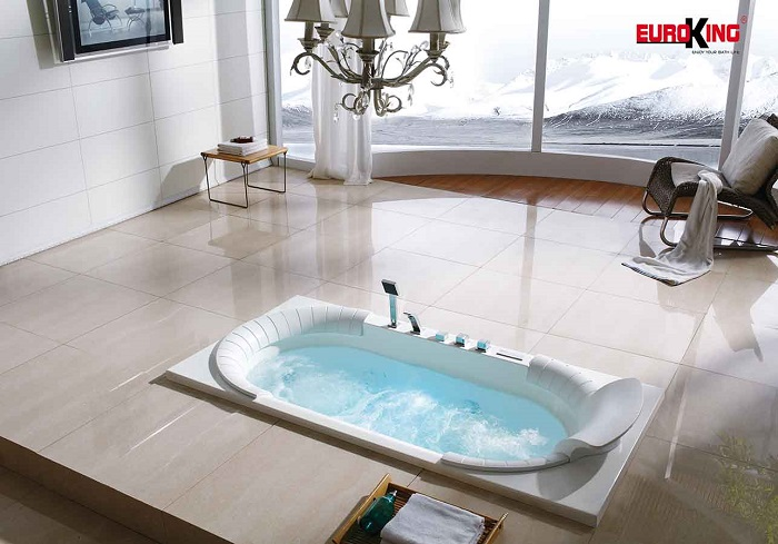 Bồn tắm nằm đặt sàn