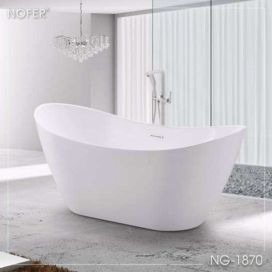 Bồn tắm NG-1870 với vẻ đẹp tinh tế.