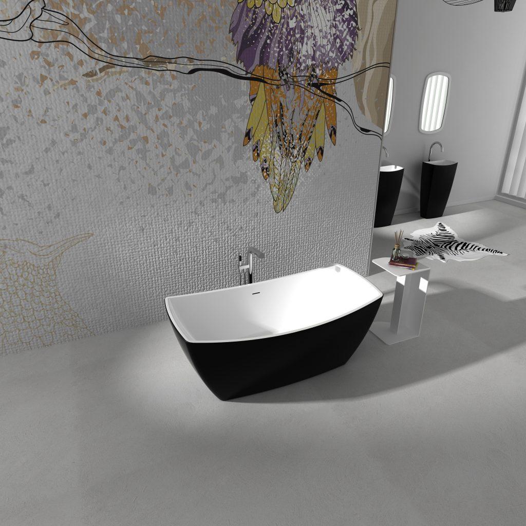 Bồn tắm EU-6033 (màu đen)