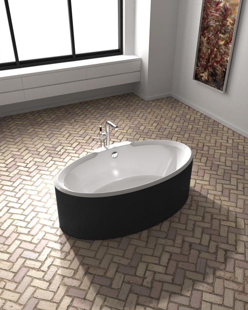 Bồn Lotus EU-6066 (màu đen kết hợp)