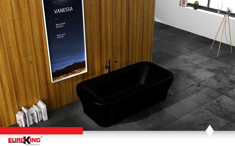 Bồn Vanessa EU-6008 (màu đen)
