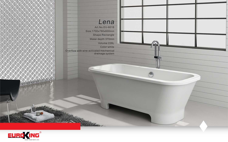 Bồn Lena EU-6018 (màu trắng)
