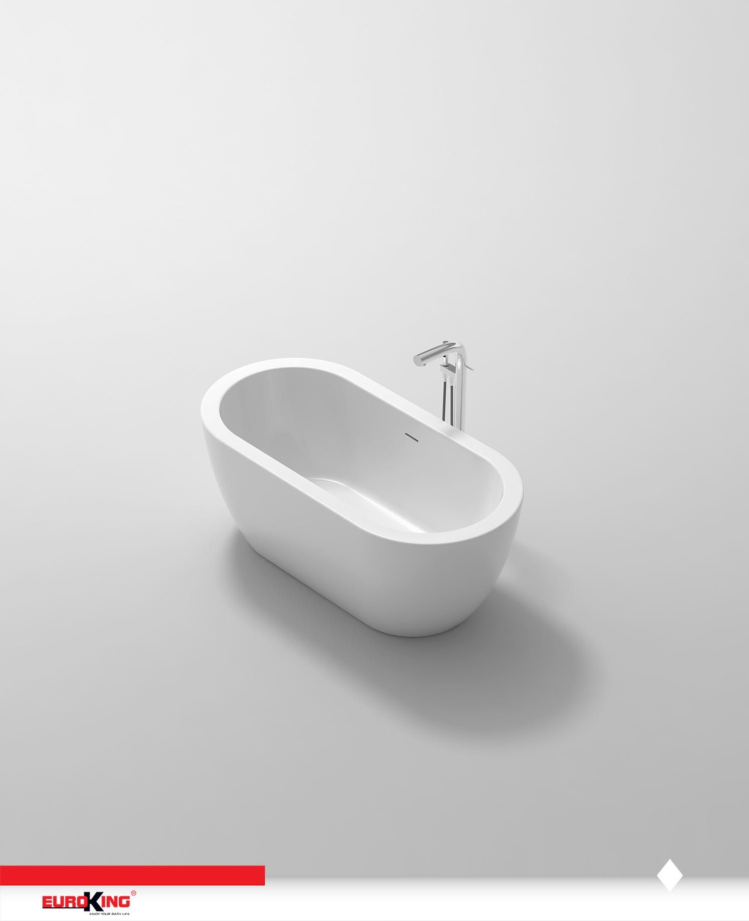 Bồn Diva EU-6023 (trắng)