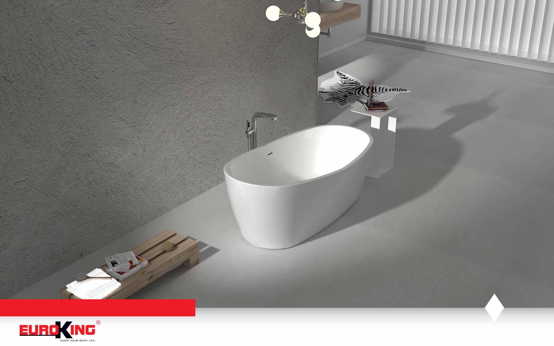 Bồn Louise EU-6037 (màu trắng)