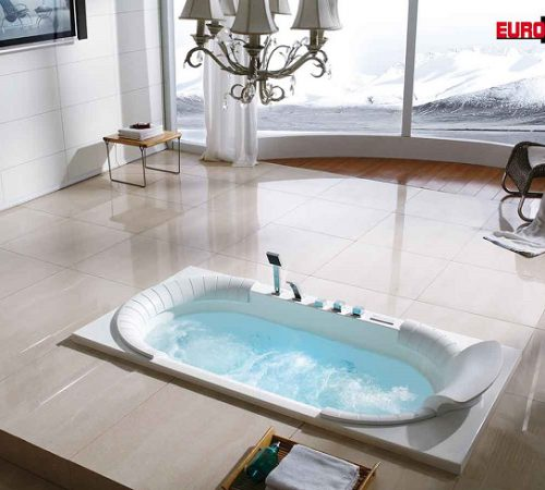 Nên lựa chọn bồn tắm massage chữ nhật hay dạng góc?