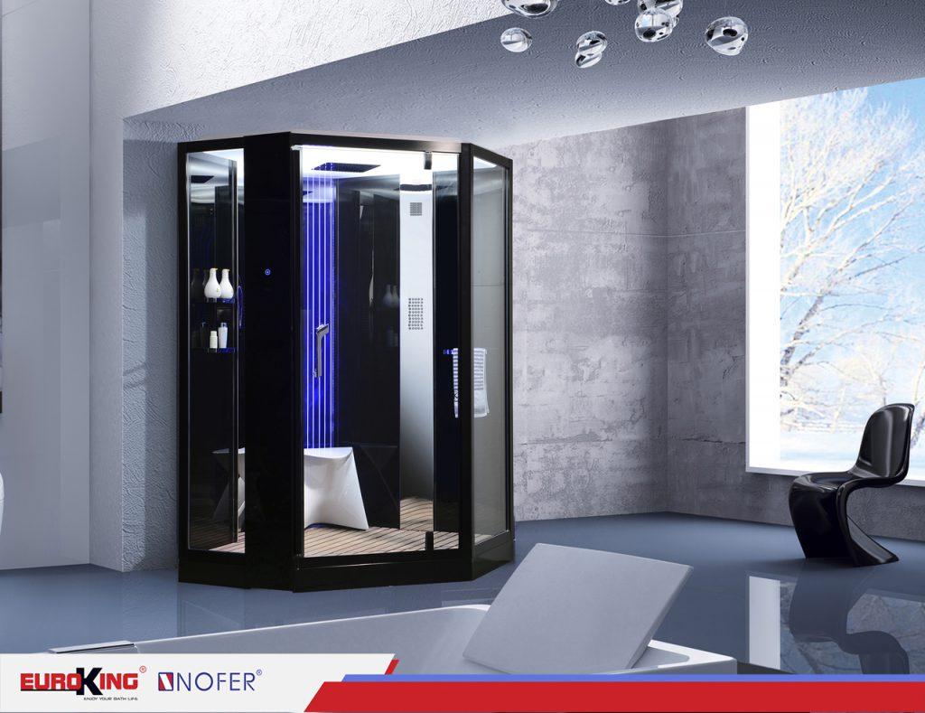 Phòng xông hơi ướt VS-89106S sở hữu những đặc tính nổi trội