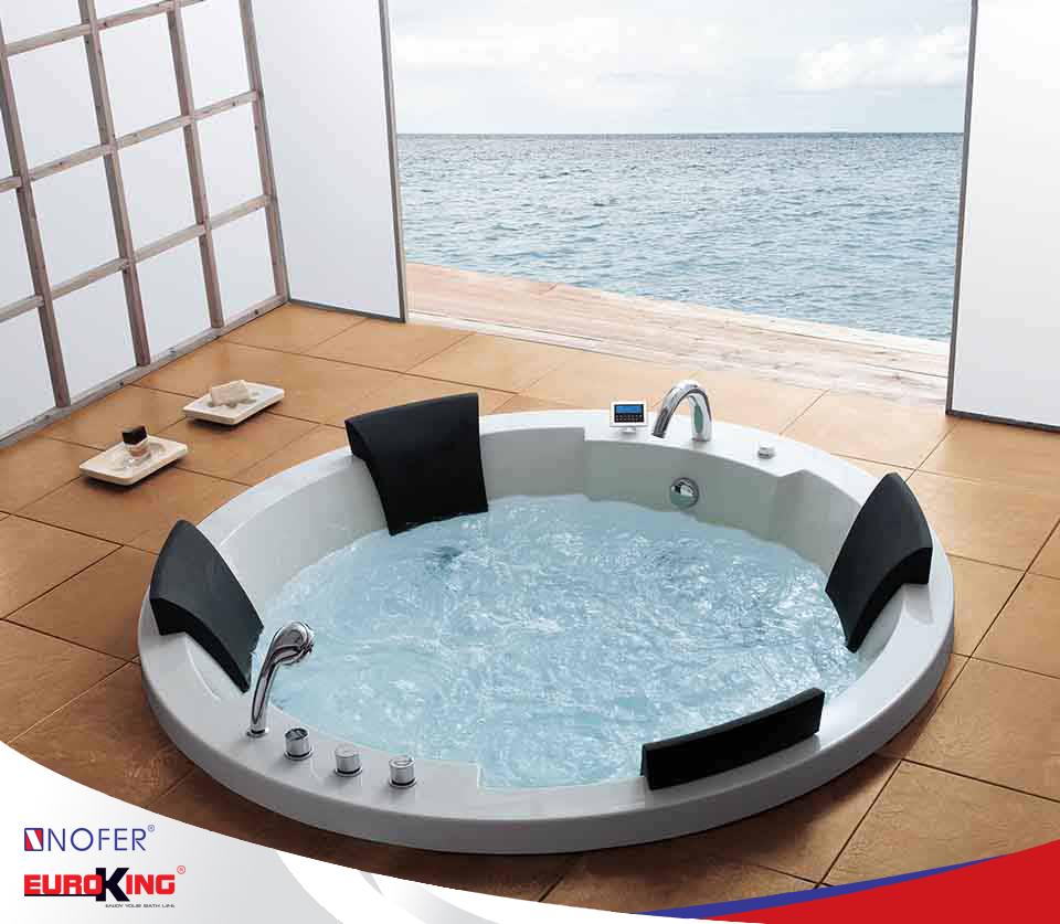 Sử dụng bồn tắm massage EU - 101