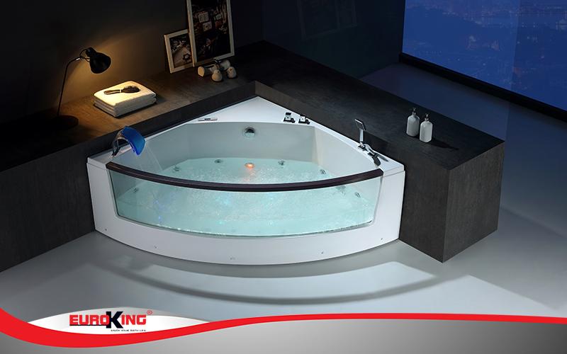 Bồn tắm massage góc EU - 202