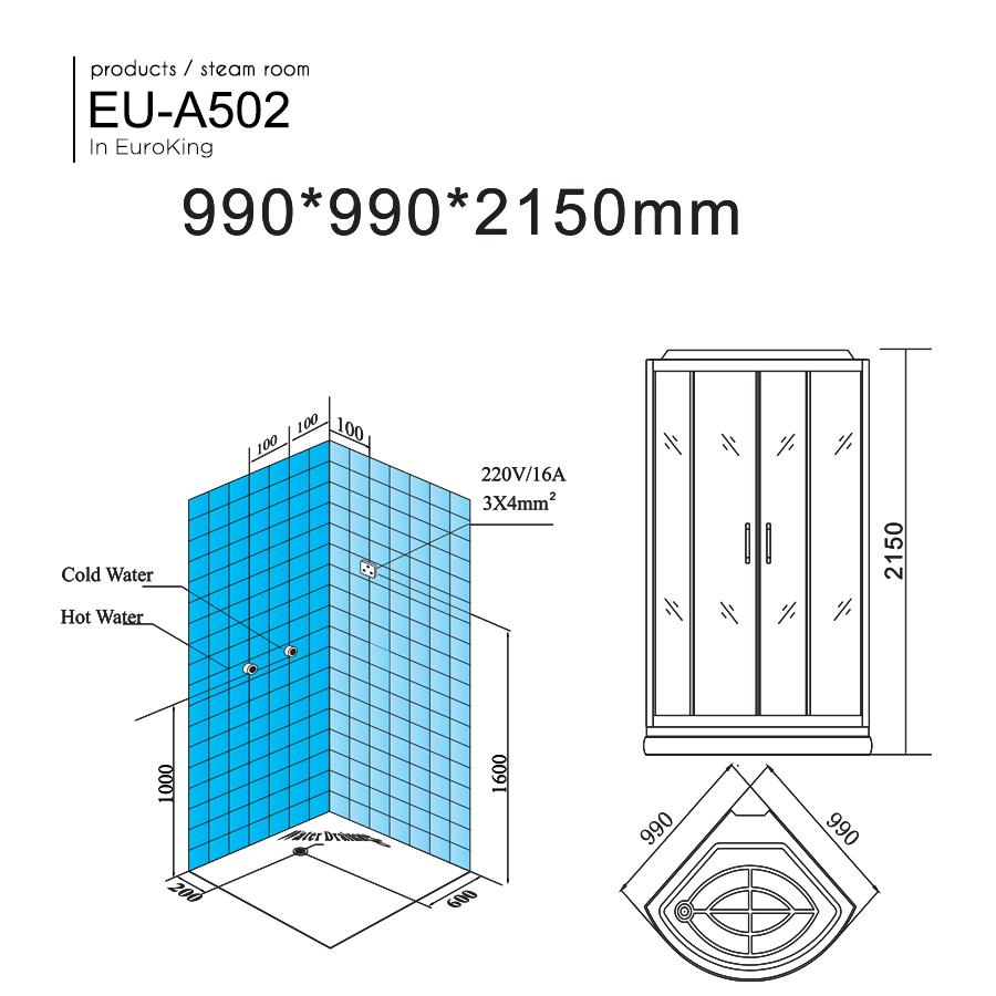 Phòng xông hơi EU-A502