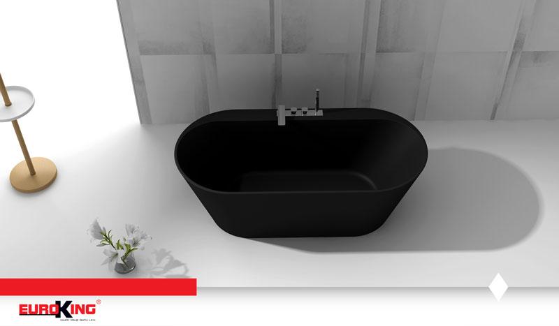Bồn tắm EU - 6057 ( Màu đen nhám )
