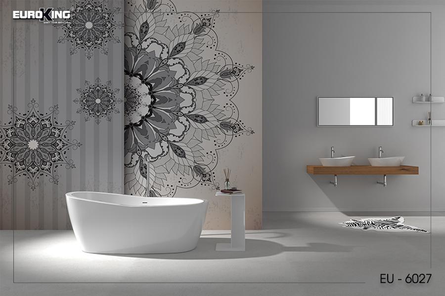 Bồn tắm EU - 6057 (Màu trắng)