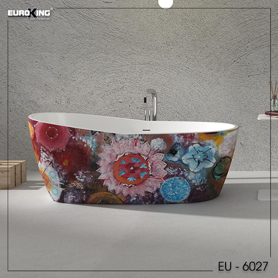 Bồn tắm EU - 6027 (Hoạ tiết)