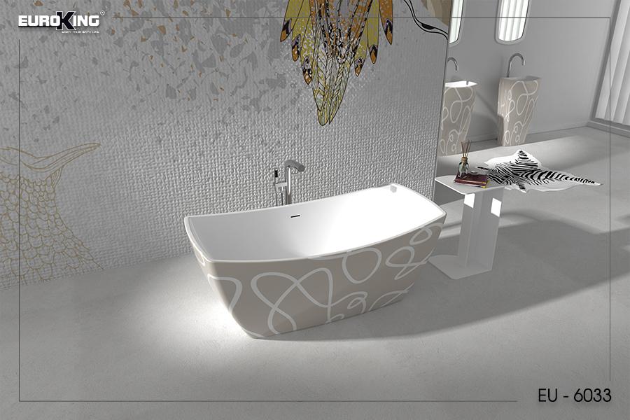 Bồn tắm EU-6033 (hoạ tiết)