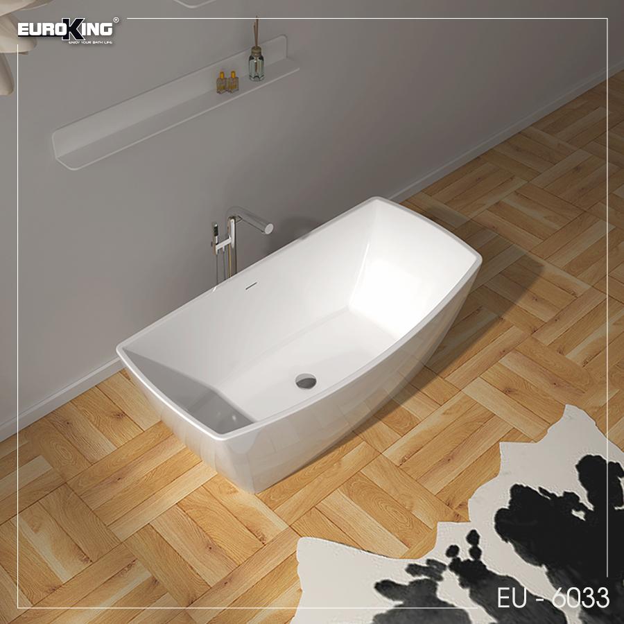 Bồn tắm EU - 6033 (Màu trắng bóng)