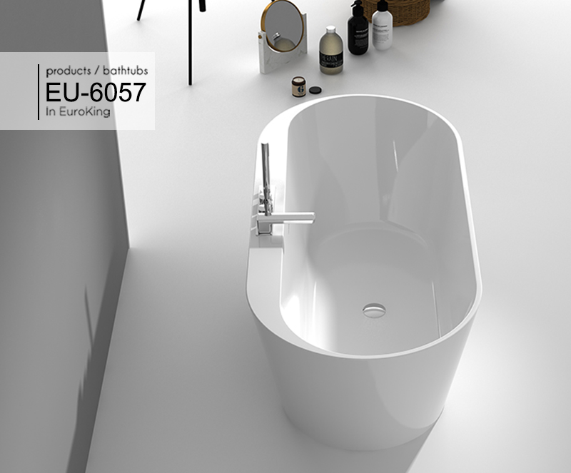 Bồn tắm EU – 6057 ( Màu trắng )