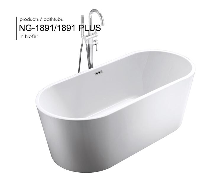 Bồn tắm NG - 1891/ 1891 PLUS
