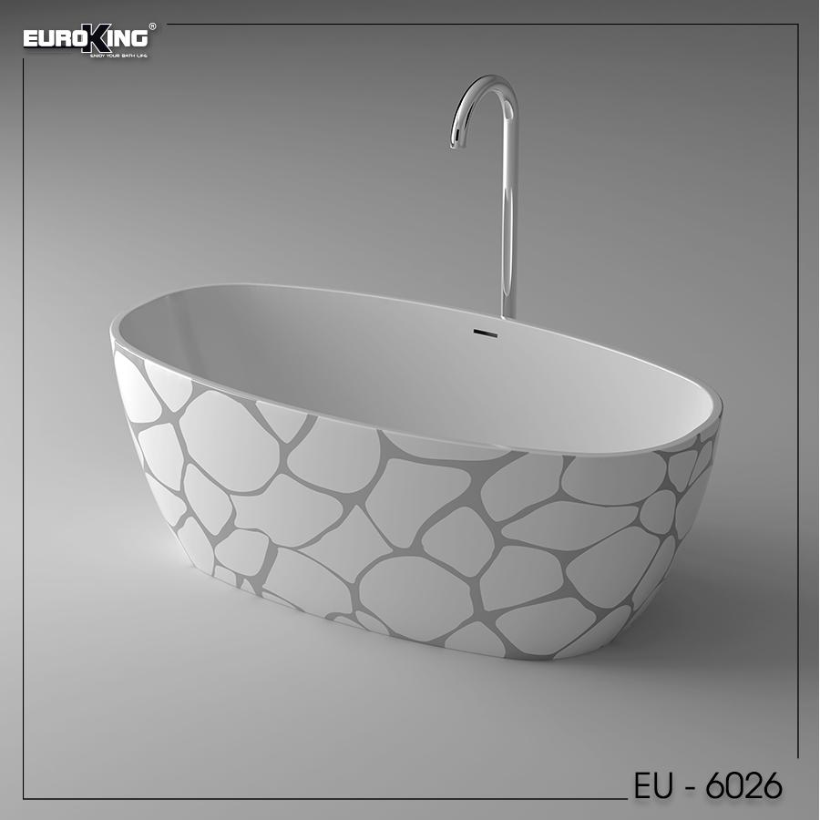 Bồn Coco EU-6026 (hoa văn)