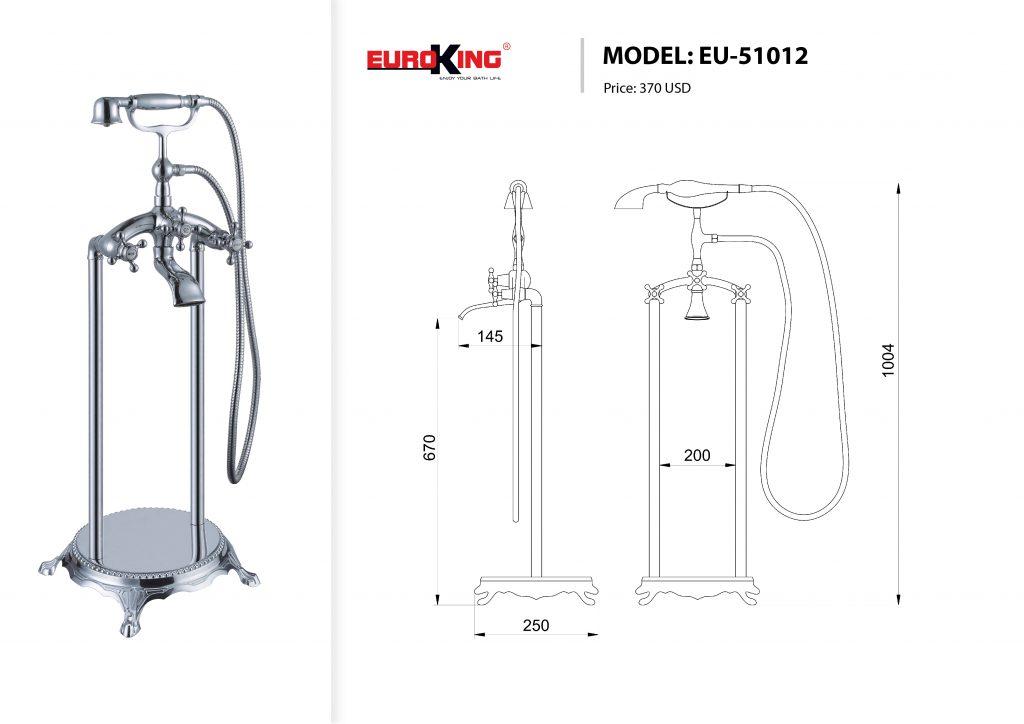 Sơ đồ điện nước EU-51012